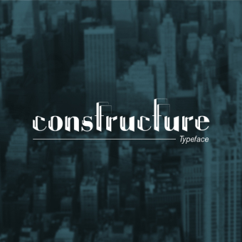Constructure Type Font