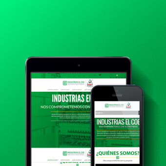 Industrias El COE Website